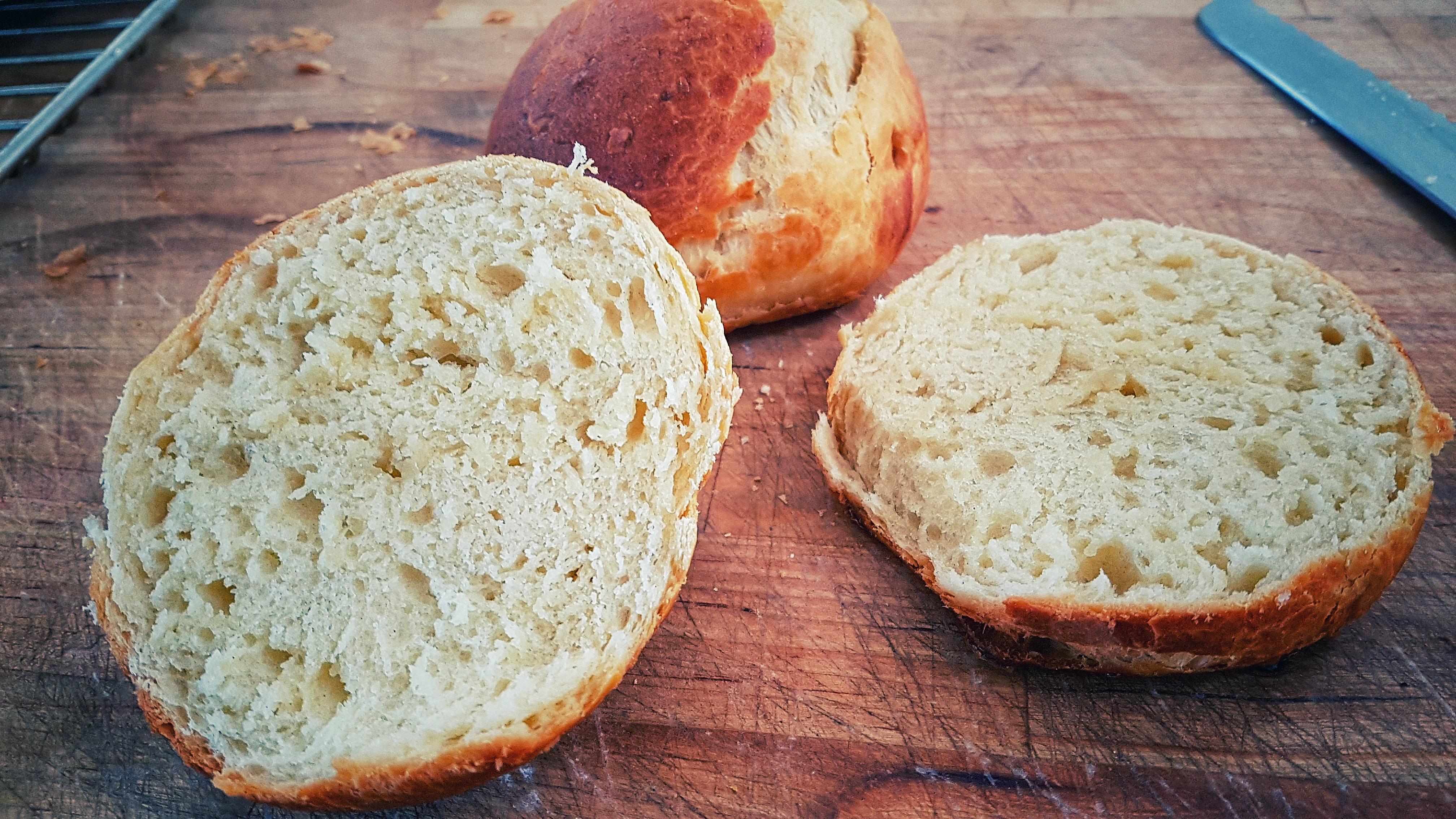 Brioche brød.